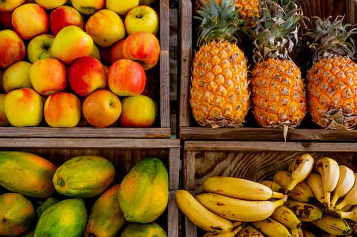 tropical fruits list